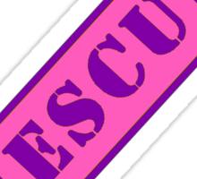 FIGHTER RESCUE - Sassy Pink Sticker