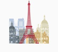 Paris skyline poster Unisex T-Shirt