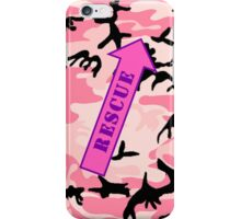 FIGHTER RESCUE - Camo Pink iPhone Case/Skin