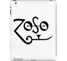 Jimmy Page- Zoso- Led Zeppelin iPad Case/Skin