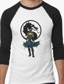 Kitana - Mortal Kombat X Men's Baseball ¾ T-Shirt