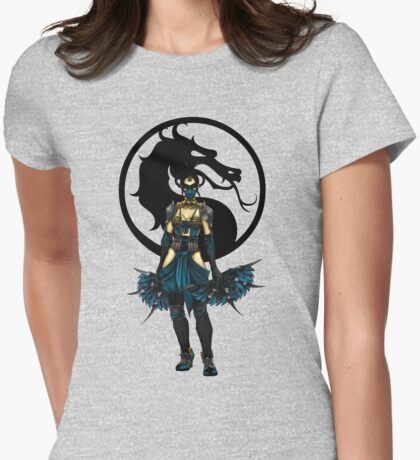 Kitana - Mortal Kombat X Womens Fitted T-Shirt