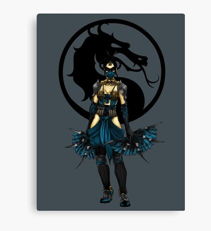 Kitana - Mortal Kombat X Canvas Print