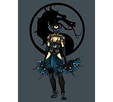 Kitana - Mortal Kombat X Photographic Print