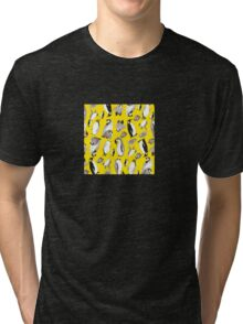 Yellow Penguin Potpourri Tri-blend T-Shirt