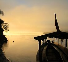 Sunrise in the Peruvian Amazon by Citisurfer