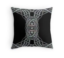 Bound Together Throw Pillow