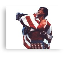Rocky Balboa - The american dream Canvas Print