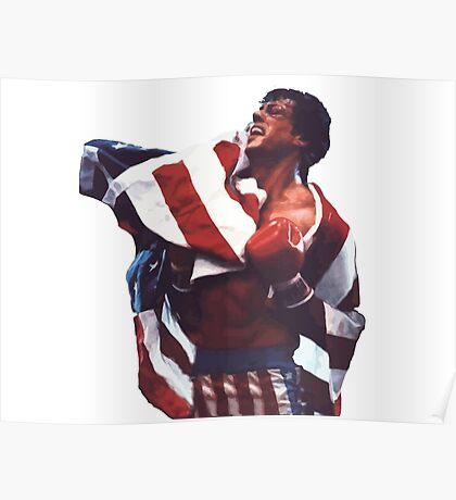 Rocky Balboa - The american dream Poster