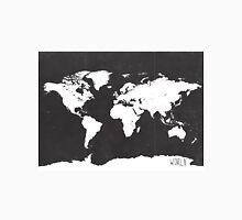 World map black and white F Classic T-Shirt