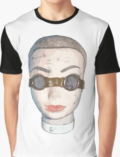 head with goggles  Graphic T-Shirt