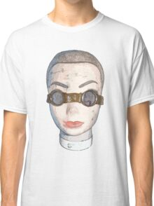 head with goggles  Classic T-Shirt