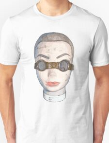 head with goggles  Unisex T-Shirt