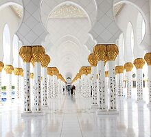 Abu Dhabi Grand Mosque by Citisurfer