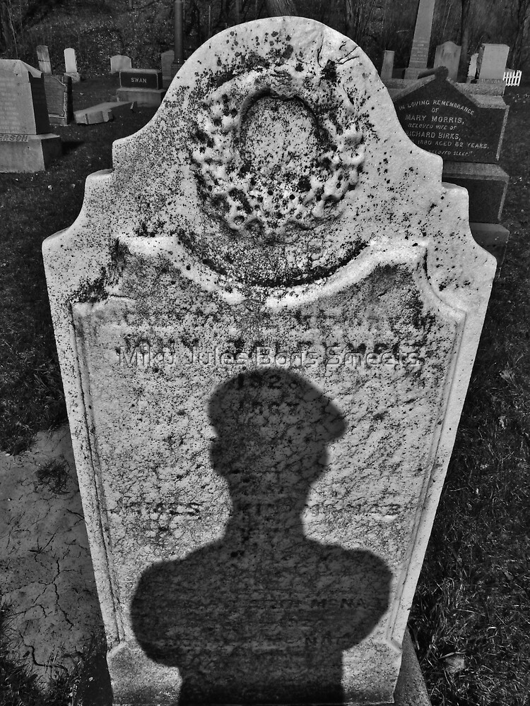 Portrait Of The Inspector In The Graveyards by Miku Jules Boris Smeets