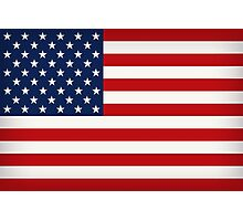 American Flag Photographic Print