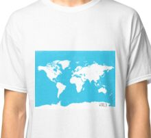 World map Travel B Classic T-Shirt