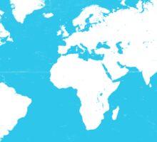 World map Travel B Sticker