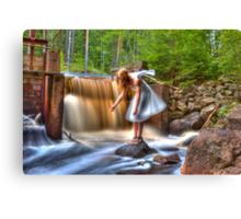 The eternal purification dam – Den eviga rening dammen Canvas Print