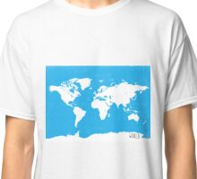 World map Travel C Ocean ed Classic T-Shirt