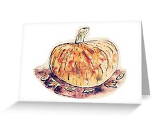 Pumpkins for carving Greeting Card