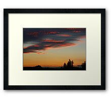 What a Sky Framed Print
