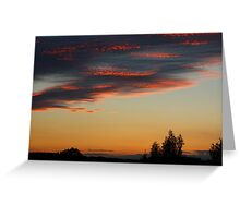 What a Sky Greeting Card
