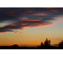 What a Sky Photographic Print