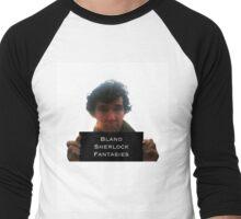 Sherlock Bland Fantasies Men's Baseball ¾ T-Shirt