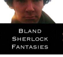 Sherlock Bland Fantasies Sticker