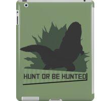 Monster Hunter - Hunt or be Hunted (Deviljho) iPad Case/Skin