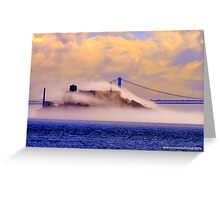 Crazy Fog... Greeting Card
