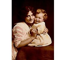 JWFrench Collection Vintage Range New Baby Photographic Print