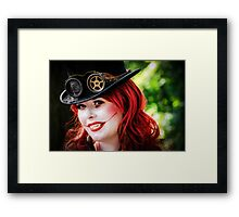 The Passionate Psychopath Framed Print