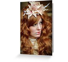 Autumn Queen Greeting Card