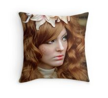 Autumn Queen Throw Pillow