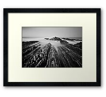 Spain: Zumaia Framed Print