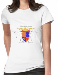 Queen Amelia Pond Womens Fitted T-Shirt