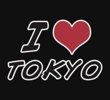 I love tokyo by Chrome Clothing