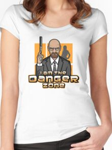 I am The Danger Zone Women's Fitted Scoop T-Shirt