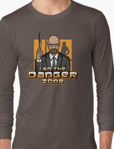 I am The Danger Zone Long Sleeve T-Shirt