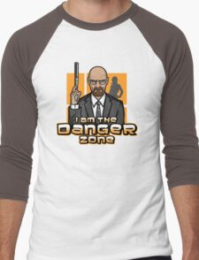 I am The Danger Zone Men's Baseball ¾ T-Shirt