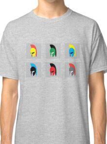 Colourful Spartans Classic T-Shirt