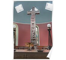 Religious, monument, Ruthwell Runic Cross Poster