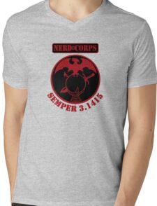 Semper 3.1415  Mens V-Neck T-Shirt