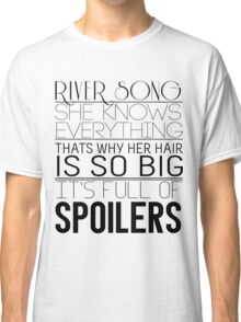 River Song (Doctor Who) Classic T-Shirt