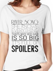 River Song (Doctor Who) Women's Relaxed Fit T-Shirt