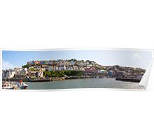Brixham Village Poster