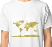 World map GOLD Classic T-Shirt