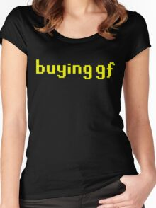 buying gf Women's Fitted Scoop T-Shirt